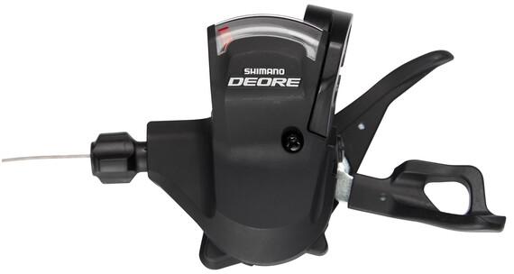 Shimano Deore SL-M610 Klamkomanetka 2/3-biegowa czarny